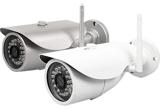 MAGINON 100323 Security OD-25 HDC, Smart Home IP Cameras, 1280 x 720 Pixel, Silber