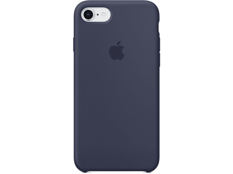 APPLE Θήκη iPhone 8/7 Silicone Midnight Blue smartphones   smartliving iphone θήκες iphone smartphones   smartliving αξεσουάρ