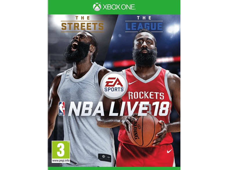 NBA Live 18 - The One Edition Xbox One gaming games xbox one games