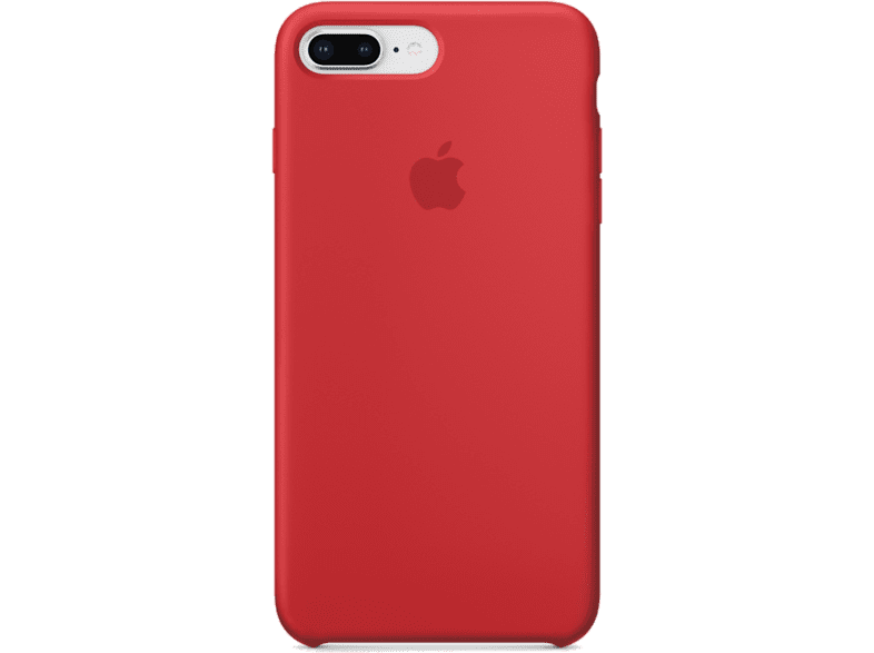 APPLE Θήκη iPhone 8 /7 Plus Silicone Red smartphones   smartliving iphone θήκες iphone smartphones   smartliving αξεσουάρ