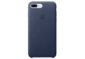 Apple Case voor iPhone 7 (8) Plus, Leder (donkerblauw)