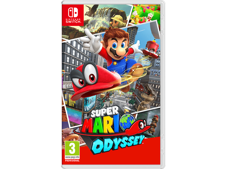 Super Mario Odyssey Nintendo Switch gaming games switch games