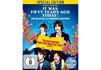 It Was Fifty Years Ago Today! The Beatles: Sgt Pepper & Beyond - (Blu-ray)