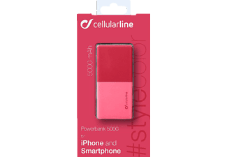 CELLULAR LINE FREE POWER SMART Powerbank 5.000mAh Pink
