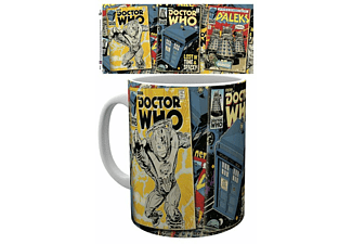Doctor Who Tasse Comics