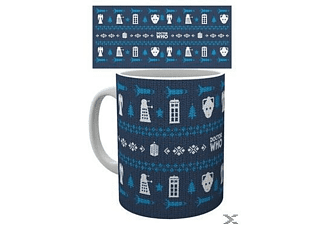 Doctor Who Tasse Ugly Sweater