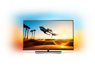 PHILIPS 55PUS7502/12 LED TV (Flat, 55 Zoll, UHD 4K, SMART TV, Android TV)