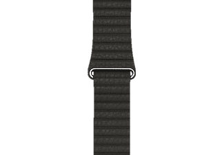 APPLE 42 mm Lederarmband mit Schlaufe, Armband, Apple, Watch (42 mm Gehäuse), Anthrazit