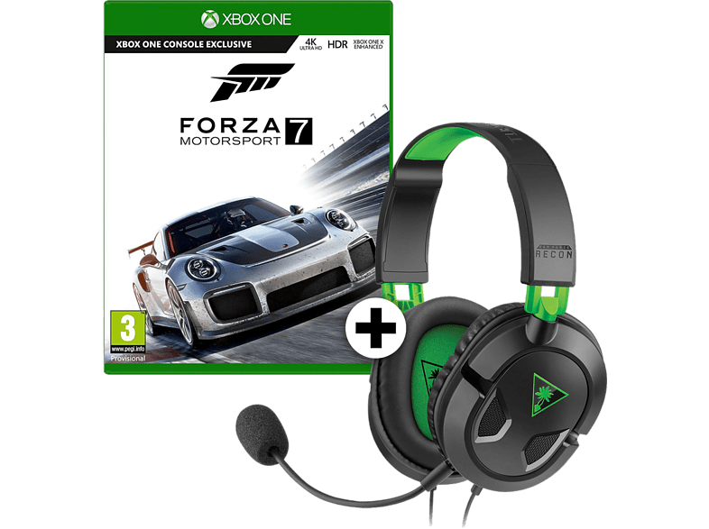 Forza Motorsport 7 + Ear Force Recon 50X Xbox One gaming games xbox one games