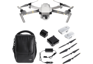 DJI Mavic Pro Fly More Combo Platinum Edition Drohne
