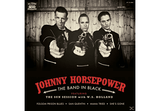 Johnny Horsepower - The Band In Black EP (+CD) - (Vinyl)