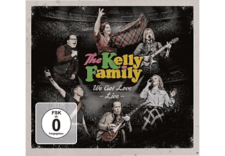 The Kelly Family - We Got Love-Live (2CD+2DVD) - (CD + DVD Video)