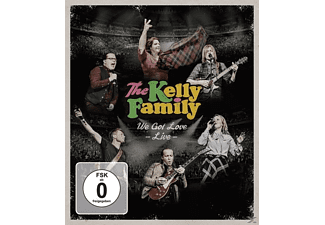 The Kelly Family - We Got Love-Live (Bluray) [Blu-ray]