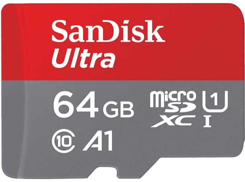 SAN DISK 64GB Micro SD Mobile Ultra 100 Mb/Sec laptop  tablet  computing  tablet   ipad κάρτες μνήμης hobby   φωτογραφία φωτογρ