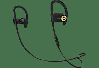 BEATS Powerbeats 3, In-ear Kopfhörer, Headsetfunktion, Bluetooth, spritzwassergeschützt, Schwarz/Gold