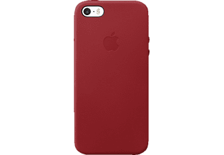 APPLE Leder Case iPhone 5/5s/SE Handyhülle, Rot