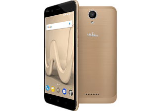WIKO Harry, Smartphone, 16 GB, 5 Zoll, Gold, LTE