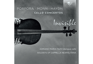 Adriano Maria/soloists Of Cappella Neapolita Fazio - Invisible-Cello Concertos - (CD)