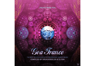 VARIOUS - Goa Trance Vol. 35 - (CD)