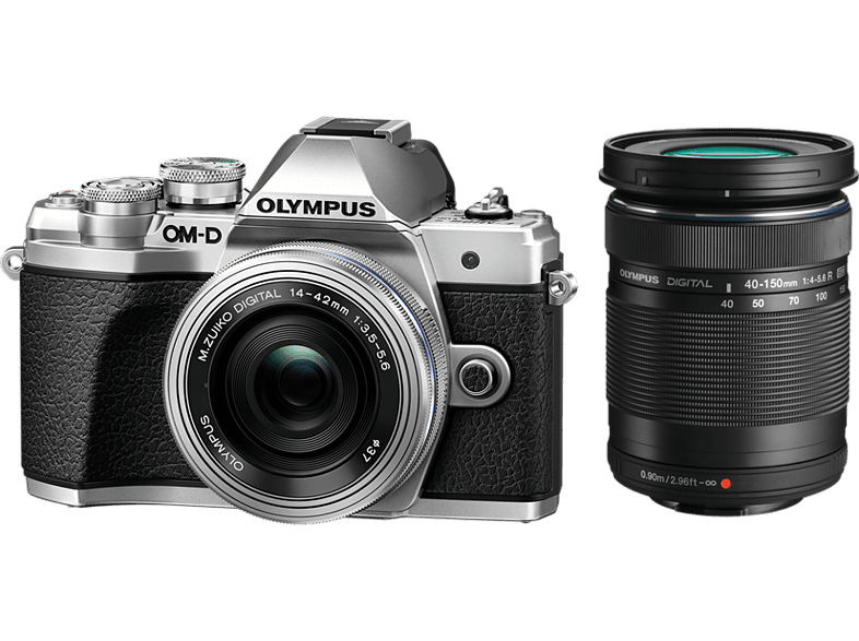 OLYMPUS E-M10 III Pancake Double Zoom Kit Ασημί +EZ-M1442 EZ Ασημί+ EZ-M40150 R  hobby   φωτογραφία φωτογραφικές μηχανές mirrorless cameras