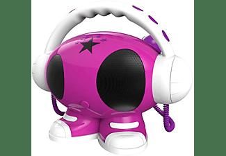 Bigben Interactive Big Ben, Robot Karaoke MP3-USB (Roze) (ROBOT02)