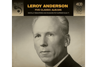 Leroy Anderson - 5 Classic Albums - (CD)