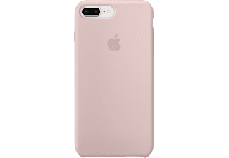 APPLE Silikon Case iPhone 8 Plus / 7 Plus Silikon Case Handyhülle, Sandrosa