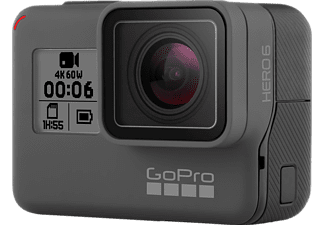 GOPRO HERO6 Black Action Cam, WLAN, GPS, Schwarz
