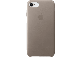 APPLE Leder Case iPhone 8 / 7 Handyhülle, Taupe