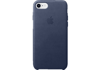 APPLE Leder Case iPhone 8 / 7 Handyhülle, Mitternachtsblau