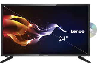 LENCO DVL-2461, 61 cm (24 Zoll), Full-HD, LED TV + integriertem DVD-Player, 50/60 Hz, DVB-T2 HD, DVB-C, DVB-S, DVB-S2