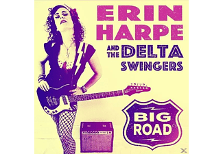 Erin Harpe And The Delta Swingers - Big Road - (CD)