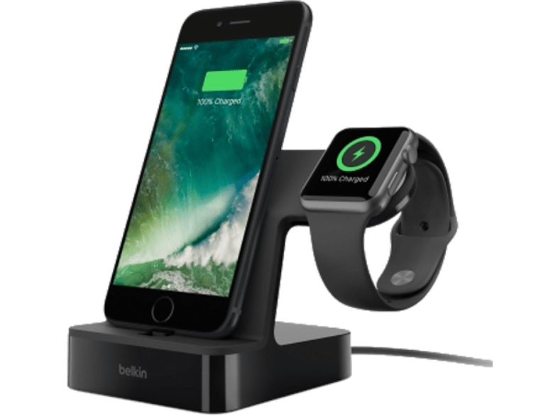 BELKIN VALET Charge dock για iPhone & Apple watch - (F8J200VFBLK) smartphones   smartliving αξεσουάρ κινητών φορτιστές