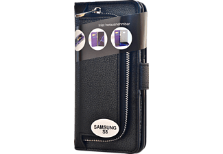 V-DESIGN W-2-1 022 Wallet 2-in-1 Bookcover Samsung Galaxy S8  Schwarz