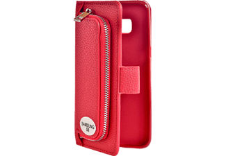 V-DESIGN W-2-1 024 Wallet 2-in-1 Bookcover Samsung Galaxy S8  Rot