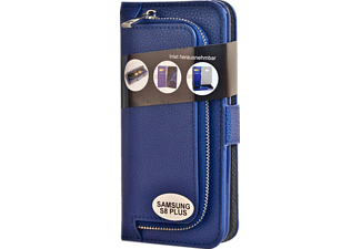 V-DESIGN W-2-1 026 Wallet 2-in-1 Bookcover Samsung Galaxy S8+  Blau