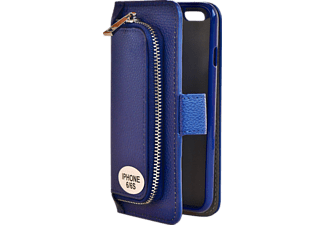 V-DESIGN W-2-1 008 Wallet 2-in-1 Bookcover Apple iPhone 6, iPhone 6s  Blau
