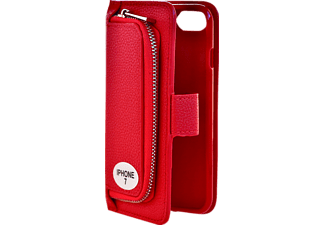 V-DESIGN W-2-1 012 Wallet 2-in-1, iPhone 7, Rot