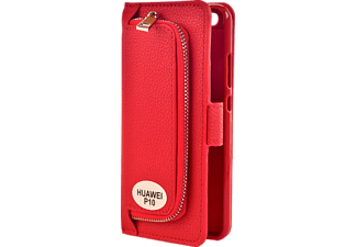 Wallet 2in1 Bookcover Huawei P10  Rot