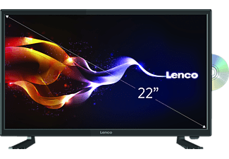 LENCO DVL-2261, 55 cm (21.5 Zoll), Full-HD, LED TV + integriertem DVD-Player, 50/60 Hz, DVB-T2 HD, DVB-C, DVB-S, DVB-S2