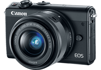 CANON EOS M100 + EF-M 15-45 IS STM fekete Kit