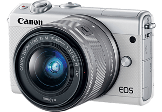 CANON EOS M100 + EF-M 15-45 IS STM fehér Kit