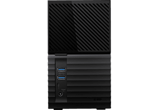 WD My BookTM Duo, 6 TB, Schwarz