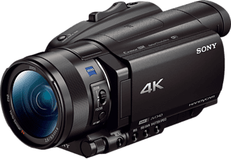 SONY FDR-AX700  Camcorder, Exmor RS CMOS Sensor, Zeiss, 12x opt. Zoom, Near Field Communication, WLAN, Schwarz