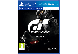 PS4 Gran Turismo Sport – Day-One-Edition inkl. That´s You Voucher Simulation