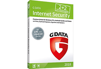 G Data InternetSecurity 2018 für 2 Windows +2 Android Geräte