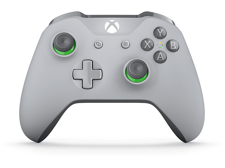 MICROSOFT Xbox Wireless Controller – Grey / Green gaming απογείωσε την gaming εμπειρία αξεσουάρ xbox one