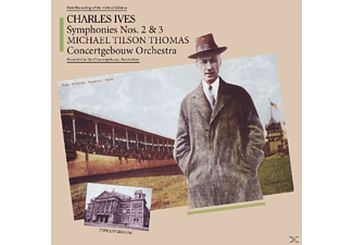 Charles Edward Ives - Sinfonie 2 & 3 - (CD)