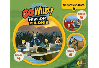 Go Wild!-mission Wildnis - (2)Starter-Box - (CD)
