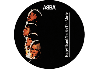 "Abba - Eagle / Thank You for the Music (Picture Vinyl, Limited Edition) (Vinyl SP (7"" kislemez))"